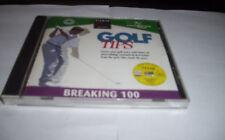 Diamar Golf Tips Cd Rom/Dvd Breaking 100 Leadbetter