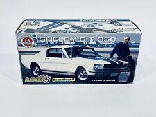 1:18 Scale Lane Exact Detail Black Shelby GT350 Gold Racing's Stripes Limited