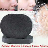 Tools Facial Effective Bamboo Charcoal Cosmetic Puff Cleaning Makeup Remover