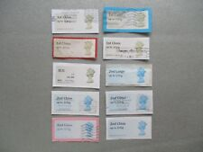 POST AND GO used QEII decimal 1st and 2nd class mix GB Postage Stamps