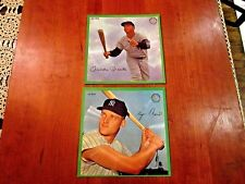 MICKEY MANTLE ROGER MARIS WHITEY FORD 1962 AURA VISION SPORTS RECORDS NEW