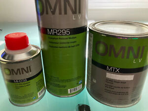 Auto Paint Kit - British Racing Green - Single Stage PPG Omni MTX - Quart
