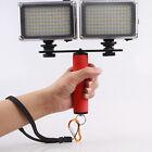Dual Flash Bracket Mount Holder for 1/4'' Screw Studio Tripod Light Stand Camera