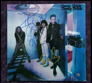 GFA All Shook Up * CHEAP TRICK * Signed Record Album C3 PROOF COA