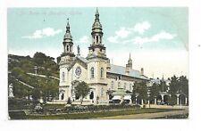 Sainte-Anne-de-Beaupré Shrine QUEBEC, QC publisher Illustrated Post Card Co.,