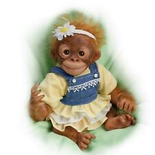 Darling Daisy Lifelike 10 Inch Monkey Doll  by The Ashton-Drake Gallery