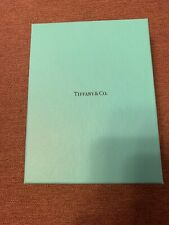 Tiffany & Co Green Leather Passport & Credit Card Holder GIFT set NIB free ship