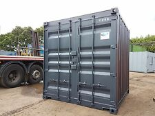8x7 Ft Very Secure Storage Container For Sale With Two Lock Boxes On The Doors
