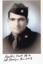 WWII Ranger Harold Davis D-Day landings at Sicily, Naples, Anzio Beachhead 4x6