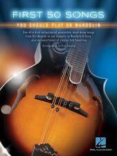 First 50 Songs You Should Play on Mandolin Sheet Music Mandolin Book N 000155489