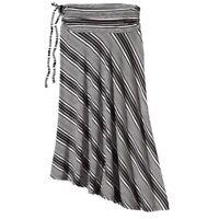 Patagonia Kamala Convertible Skirt/ Halter Dress Woman XS Black/White Stripe