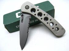 CRKT 14K Mt. Rainier - Combo Edge Knife , LAWKS 6612N US Seller