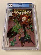 Batman 42 Cgc 9.8 White Pages Gillem March Variant Dc Comics Poison Ivy