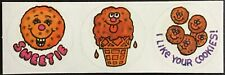 Vintage Scratch & Sniff Stickers - Paper Art - Chocolate Chip - Great Scent!!