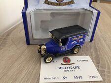 Oxford Diecast Sellotape Office Spicer 1796-1996 Bullnose Morris 092G