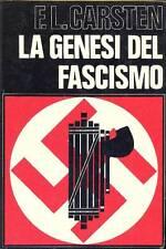 CARSTEN F.L., La genesi del fascismo
