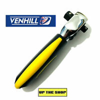 """Venhill 1/4"""" & 3/8"""" Drive double head stubby ratchet for sockets."""