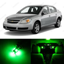 10 x Green LED Interior Light Package For 2005-2010 Chevrolet Chevy Cobalt +TOOL