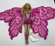 Elina Barbie Fairytopia Mermaidia Fairy Doll - Butterfly Wings Rooted Lashes