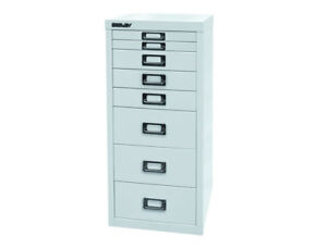 Bisley Schubladenschrank Schrank DIN A4 Akten Büromöbel Büro 11 Farben L298 Neu