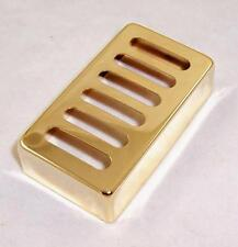 METAL Neo toaster traditionnel humbucker bridge pickup cover / gold