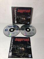 Juggernaut (Sony PlayStation 1, 1999) PS1 Near Complete CIB Tested