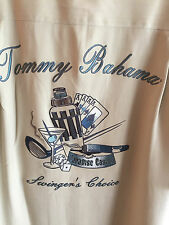 Tommy Bahama Swinger's Choice Embroidered Shirt Paradise Casino Big Horn NWT  M