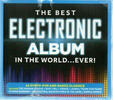 The Best Electronic Album In The World...Ever! - Various Artists (CD 2019)  New