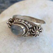 Markenlose Ringe mit Edelsteinen für Damen (17,2 mm Ø) 54