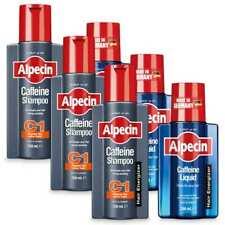 Saver Pack - Alpecin Men's Shampoo C1 Shampoo + Tonic Set (3 Month Supply)