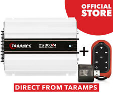 Taramps DS 800X4 800 watts 1 Ohm Amplifier Class D + Connect Control Red