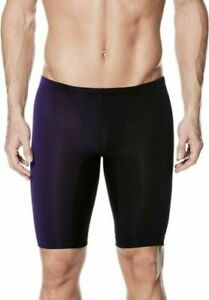 NIKE PERFORMANCE Boys/ Men Fade Sting Jammer Swimsuit Court Purple Size 22 NWT