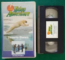 VHS Ita Documentario VIDEO ADVENTURE Deserto Bianco Domovideo ex nolo (V112)