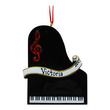 PERSONALIZED Piano Recital Christmas Tree Ornament 2019 Holiday Gift