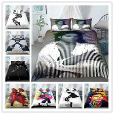 Duvet cover Pillowcase Bedding set Single Double Children's gift Michael Jackson