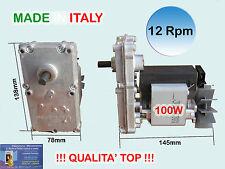 MOTORIDUTTORE PELLET PROFESSIONALE 12 RPM X COCLEA  NOCCIOLINO - MAIS - BIOMASSE