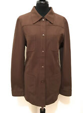 ICEBERG Camicia Giacca Donna Jersey Sahariana Woman Shirt Jacket Sz.M - 44