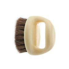 Shoe cream brush with handle black horse hair beech wood Horse Hair Soft Brush