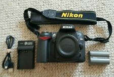 Nikon D D90 12.3MP Digital SLR Camera - Black (Body only) GREAT CONDITION