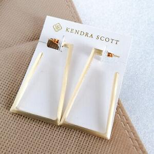 Easton Gold Hoop Statement Earrings by Kendra Scott