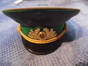 NVA Mütze General  Grenztruppen