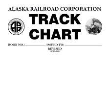 Alaska Railroad 2015 System Track Chart Profile Diagram ARRC
