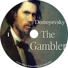 The Gambler, Fyodor Dostoyevsky Audiobook Fiction English Unabridged 5 Audio CDs