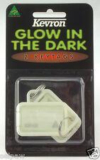 Glow In The Dark Key Tags - set of 2, Kevron ID43 PP2