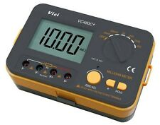 (NEW) VC480C+ 3 1/2 Digital Milli-ohm Meter multimeter w/ External Power Cord
