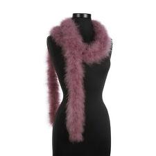 Dusty Purple 25 Gram Marabou Feather Boas - 6 Feet Long - Halloween Costumes