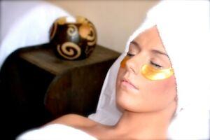 Gold Anti wrinkle Eye patches - Vegan -10 Pairs Happy Eyes