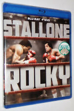 Rocky : The ORIGINAL Sylvester Stallone Movie on Blu Ray & DVD - Factory Sealed!