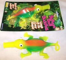 2 GIANT SIZE INFLATEABLE BLOWUP LIZARD balloon lizards novelty toy reptile 12 IN