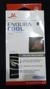 "ARIZONA DIAMONDBACKS  ~ Mission Endura Cool Instant Cooling Towel ~ 12"" x 33"""